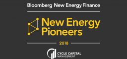 SaltX winner of Bloomberg's New Energy Pioneer Award
